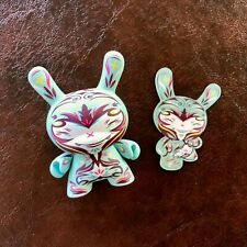 """MINT CONDITION KIDROBOT DUNNY BY THOMAS HAN SERIES 2009 """"PAINKILLER"""" 3"""" FIGURE"""