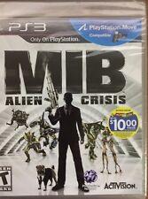 Sony PlayStation 3 - PS3 - MIB Alien Crisis - Men In Black  - Brand New - Sealed
