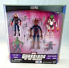 Guardians of the Galaxy Legends Series (Star-Lord, Gamora, Groot, Drax, Rocket)