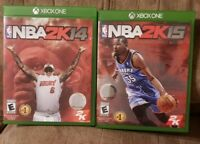 NBA 2K15 and 2K14 Xbox One
