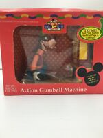 Vintage Disney's Goofy Action Gumball Machine Bowling Animated Action FUN!!!
