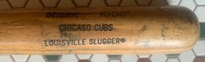 CHICAGO CUBS USED H&B K100 MODEL FUNGO BAT (1993-97) *TONY MUSER USE*