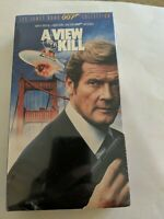 A VIEW TO A KILL James Bond 007 Collection 1985 Movie VHS Video Tape NEW Sealed