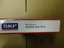 SKF BEARING - PART# 6320-2Z/C3 - 1 PC. NEW