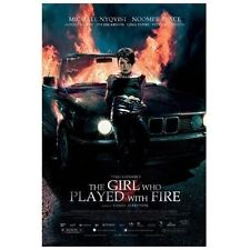 The Girl Who Played With Fire (DVD, 2010) Brand new, wrapped in plastic