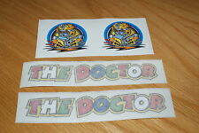 """Rossi """"THE DOCTOR"""" Decals/Stickers (Pair)"""