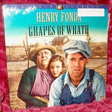 LD Laserdisc Henry Fonda THE GRAPES OF WRATH John Ford  REMASTERED 1996