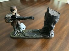 Original Cast Iron CREEDMOOR Mechanical Bank by J & E Stevens c 1877