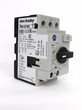 Allen-Bradley 140M-C2E-B40 Motor Circuit Protector/Breaker w/ 140M-C-AFA10 Aux