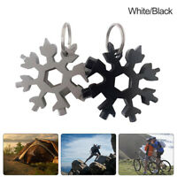 Snowflakes Multi-tool Card Snowboard Screwdriver Wrench Bottle Opener 8Head NICE