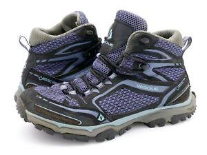 Vasque Womens 9.5 M Inhaler GTX Gore Tex Purple Black Lace Up Hiking Trail Boots