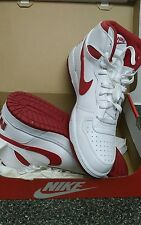 BIG NIKE HIGH MENS CLASSIC BASKETBALL SHOES WHITE GYM RED 336608 160