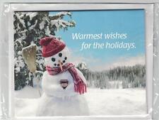 Tim Hortons 2008 Holiday Snowman Gift Card Holder / Envelope