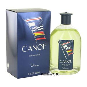 CANOE by DANA for MEN * HUGE 8/8.0 oz. (236 ml) EDT Splash * NEW & SEALED