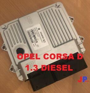 Opel Vauxhall Corsa D 1.3 Motorsteuergerät ECU 55568385 KZ  Z13DTJ MJD6O3.S4