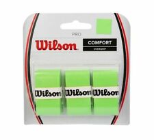 3 Wilson Pro Grips/Overgrips - Blade Green - Free P&P