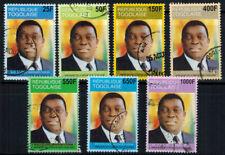 Togo, president, 2004, postally used.