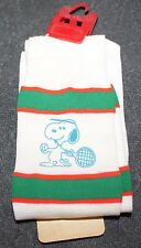VINTAGE TENNIS SNOOPY SOCKS CHILD SIZE 6-7 1/2