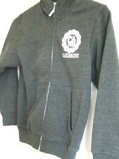 Dark Grey Hooded Fleece (Zip fastening) - Age 8-9 years - Carbrini