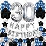 Happy Birthday Party Ballon Set Supply Decor For Age16/18/21/25/30/40/50/60/70