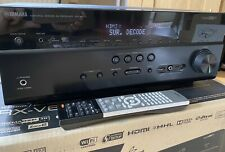 Yamaha RX677 7.2-channel Wi-Fi Built In Network AV Receiver.