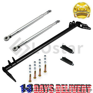 Front Traction Control Lower Tie Bar Kit For 92-01 Honda Civic Acura Integra
