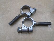 Triumph 750 Bonneville T140-V Used Handlebar Clamps Holders 1973 WD RB60