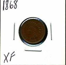 1868 1C Indian Head Cent in XF Condition