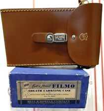 Vintage Bell & Howell Filmo Sheath Carrying Case For Auto Load Movie Camera Nos