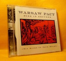 CD EP Warsaw Pact Six Kicks In Your Heart 6TR 2000 Industrial, Electro