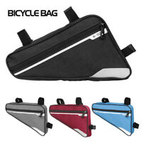 Large Capacity MTB Bike Bag Triangle Frame Bag Bicycle Cycle Luggage Storage