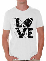 LOVE Football Men's T shirt Tops Football Game Football Lover Gifts