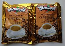 Vinacafe 3 in 1 Instant Coffee Mix 40 Servings (Two bags of 20)