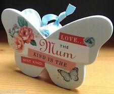 SPECIAL MUM HALLMARK Keepsake Butterfly Ceramic Plaque Appreciation Gift 💝