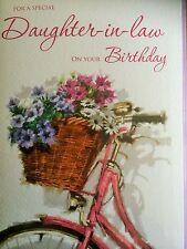 Daughter-In-Law.... Pretty Card
