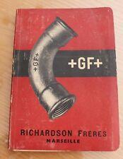ancien catalogue richardson frères Marseille 1953