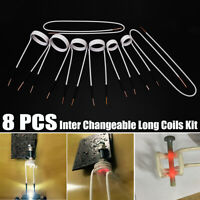 8 Pcs Inter Changeable Long Coils Kit For Magnetic Mini Ductor Induction Heater