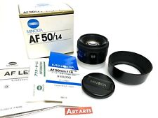 RS Version!!【N MINT in BOX LATE】 Minolta AF 50mm f1.4 Lens for Sony A from JAPAN