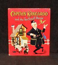 Tell-A-Tale #2610 - Captain Kangaroo Too-Small House - 1958 Whitman HC - 1st