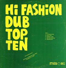 """ HIGH FASHION DUB TOP TEN. "" the dub specailist. STUDIO ONE JA orig  L.P."