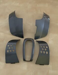 Go Go Elite Traveller Mobility Scooter Plastic Body Cover Panels Matalic Grey