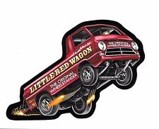 Little Red Wagon Wheelstander Decal Sticker Mopar NHRA Drag Racing A-100 PickUp
