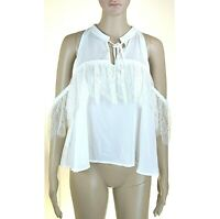 Top Canotta Donna TOY G by PINKO Made in Italy Blusa I629 Bianco Tg 42