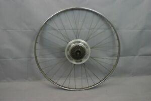 "Sturmey Archer 27"" Vintage Bike Rear Wheel 18mm Steel French Hubs USA Charity!"