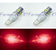 LED Light 50W 921 Red Two Bulbs Back Up Reverse Replace Show Use JDM Style Lamp