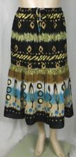 Peasant, Boho Knee-Length Machine Washable 100% Cotton Skirts for Women