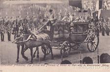 * ROYALTY - Coronation Review 1902, King Edward VII - Prince, Princess of Wales