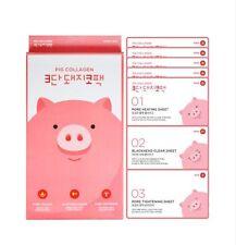 [MEFACTORY] Pig Collagen 3-STEP Cleansing Nose Pore Strip/Pack Sheet 5ea, Korea