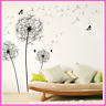 Art Decals Dandelion Wall Stickers For Living Room Bedroom Wall Sticker Decors