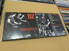 U2 2 CD  DETROIT ROCK CITY 20/05/183 -  04/12/1981